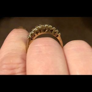 Gold mom ring